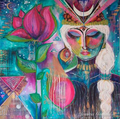 Intuitive Visionary Painting