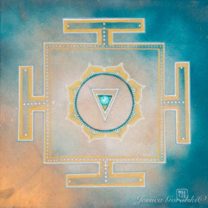 How to create the Kali Yantra Mandala