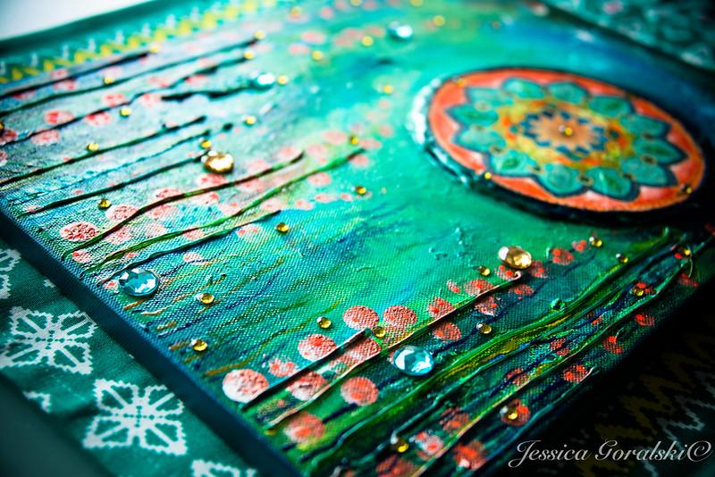 Intuitive painting workshop online