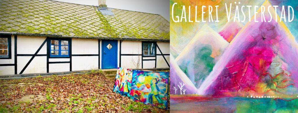 Konst Galleri Skåne Art Gallery Sweden Skane Konstrundan